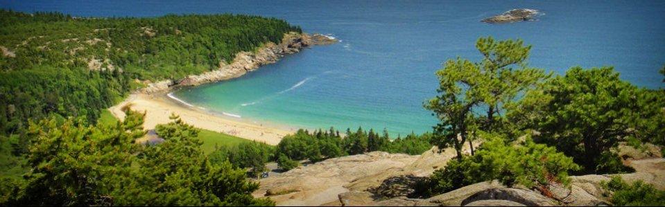 Sand Beach au Parc Acadia